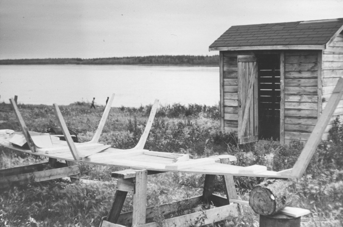 Canoe - Building Of, Institute for Northern Studies fonds